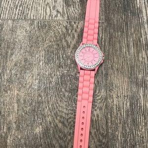 Pink Geneva watch
